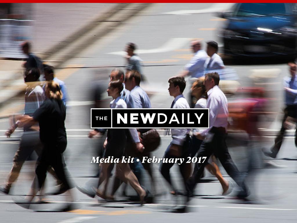 The New Daily Media Kit February 2017