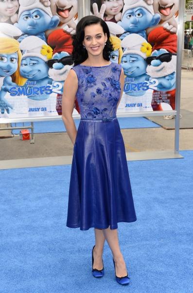 Katy Perry Smurfs