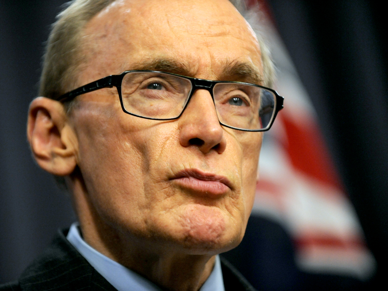 Former foreign minister Bob Carr