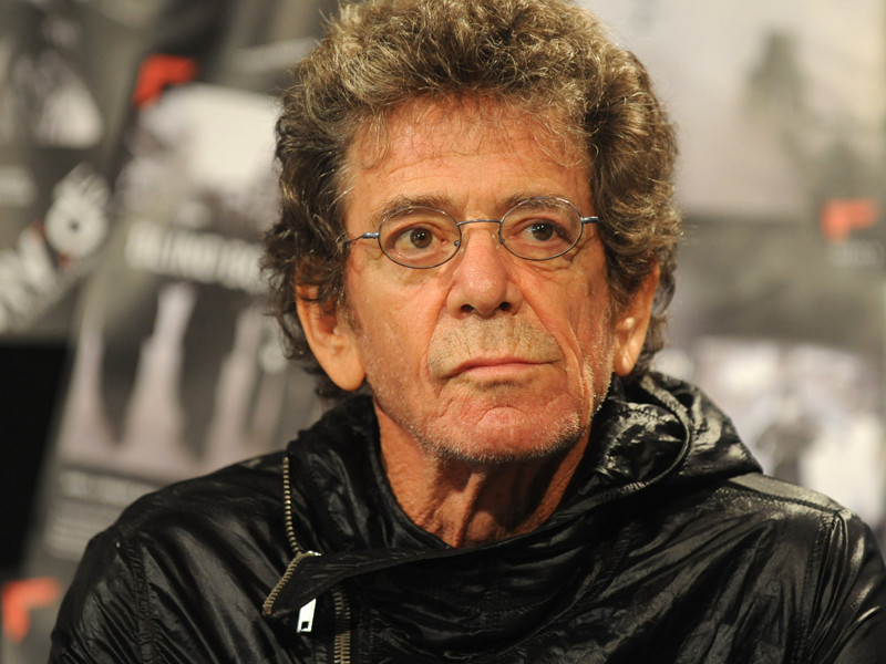 Velvet Underground frontman Lou Reed