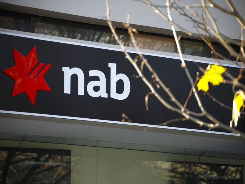 A National Australia Bank branch in Canberra