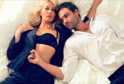 Nina and Patrick, aka Asher Keddie and Matthew Le Nevez.