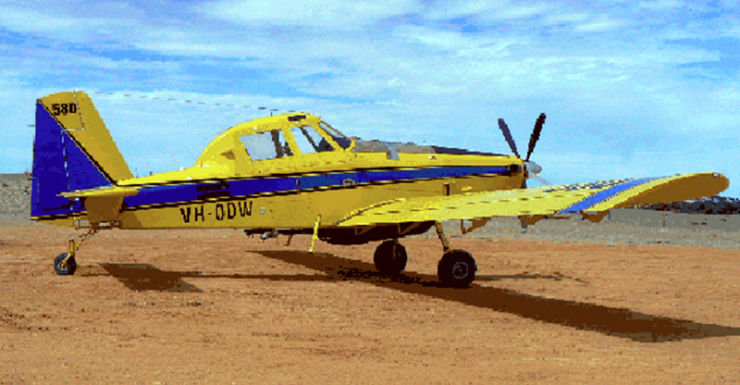 An Air Tractor AT-802