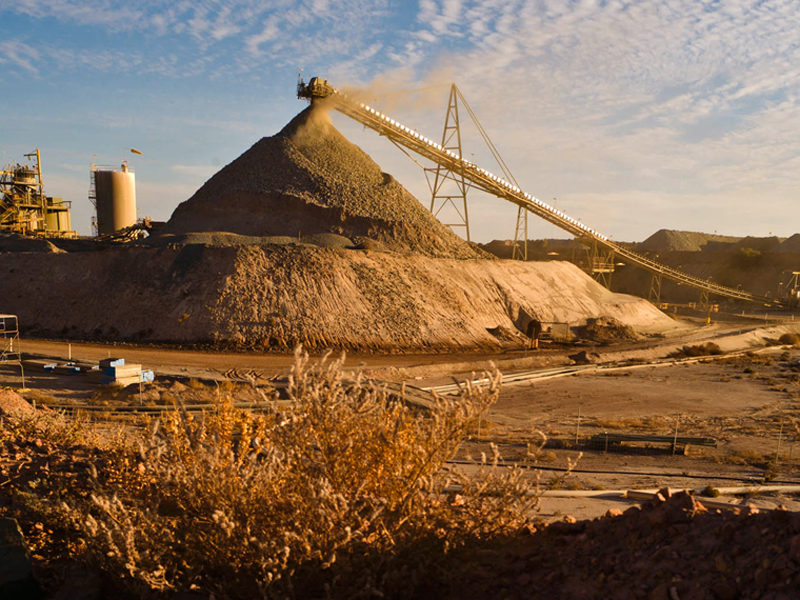 A mining project east of Perth