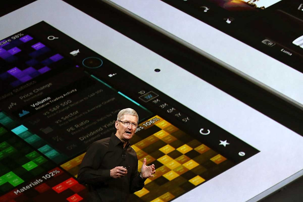 Apple reports record profit