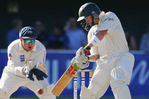 George Bailey playing for Tasmania in the Sheffield Shield