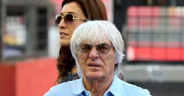Bernie Ecclestone Formula One boss