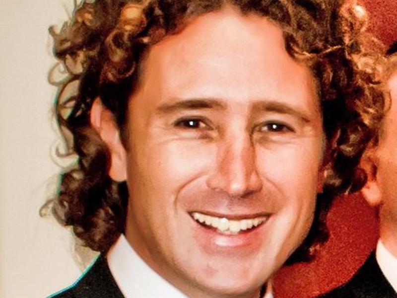 Australian surf instructor Matt Scarff