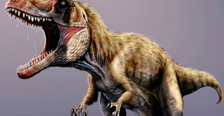 A newly discovered dinosaur named Siats meekerorum.