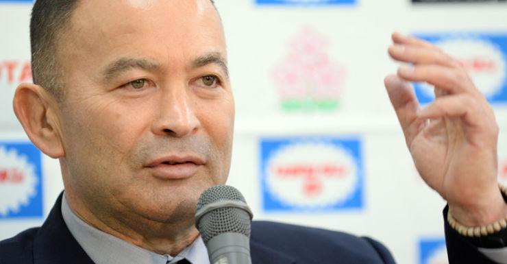 Former Wallabies coach and current Japan coach Eddie Jones