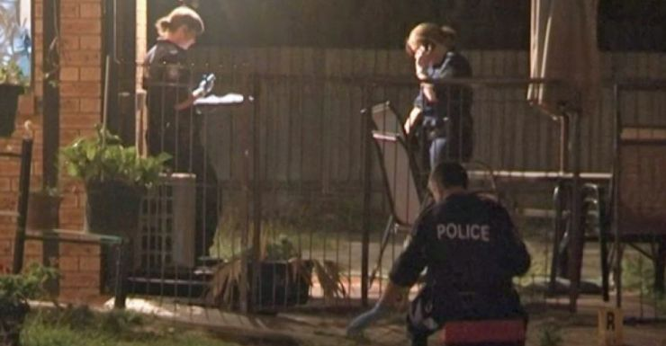 Police at scene of Blacktown shooting
