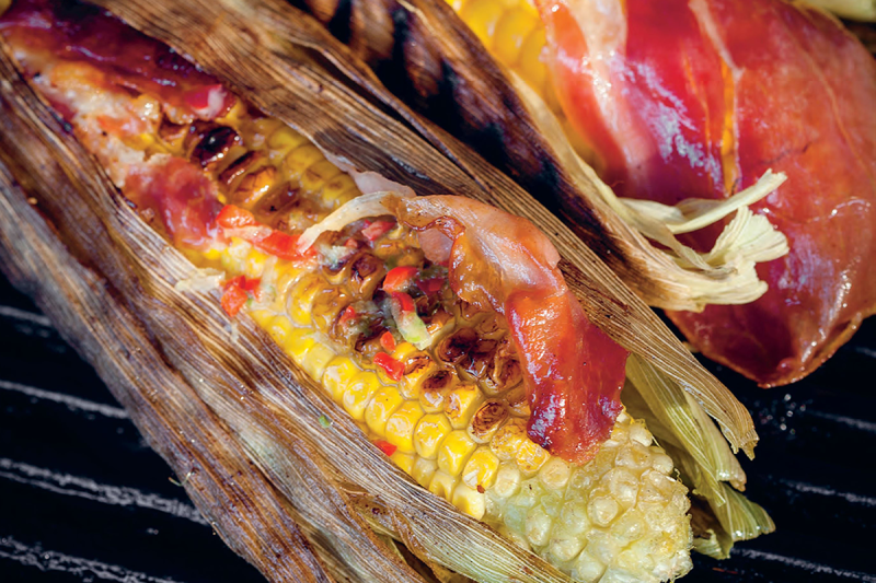 how to cook corn cobs fast