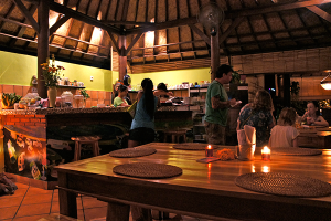 Fair Warung Bale supports health services for local Balinese people.