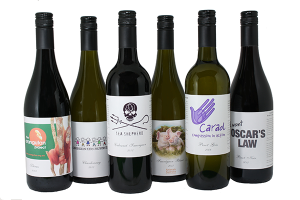 Goodwill Wine donates 50% of its profits to the charity of your choice.