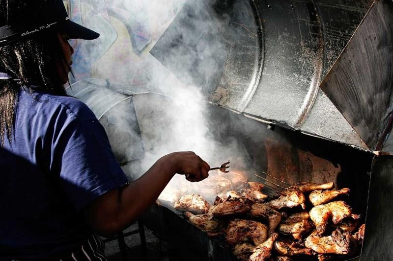 Jerk chicken is a Cuban-Caribbean specialty.