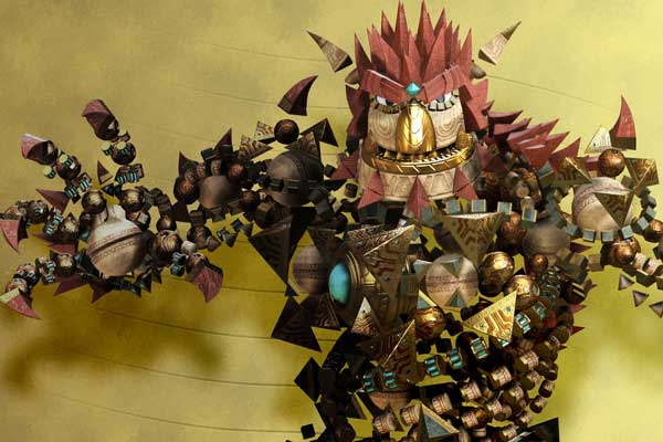 Goblins need to be taught a lesson in Knack.