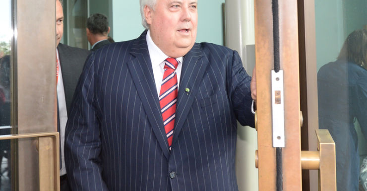 Federal MP Clive Palmer