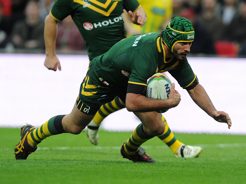Kangaroos Rugby League player Johnathan Thurston