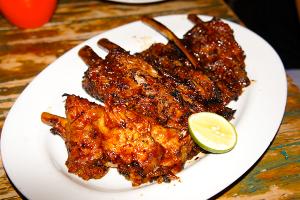 Naughty Nuri's BBQ pork ribs.