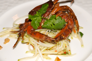 Sardine's specialty is fresh seafood.
