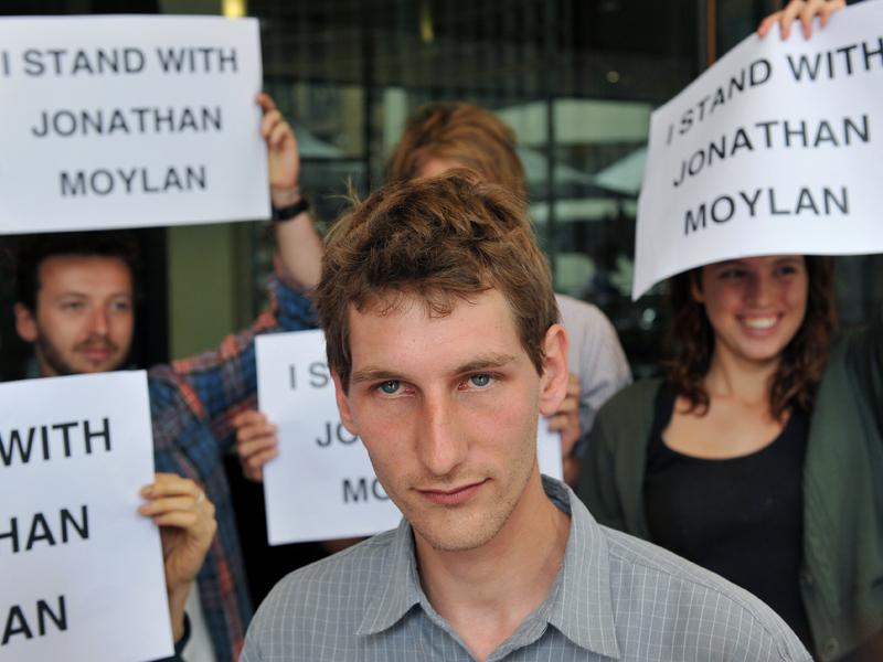 Environmentalist Jonathan Moylan