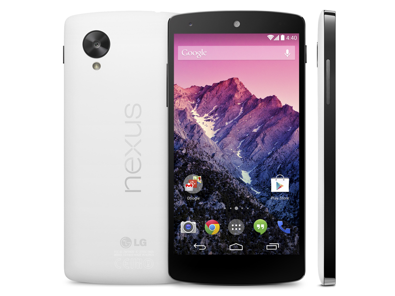Google's Nexus 5 phone