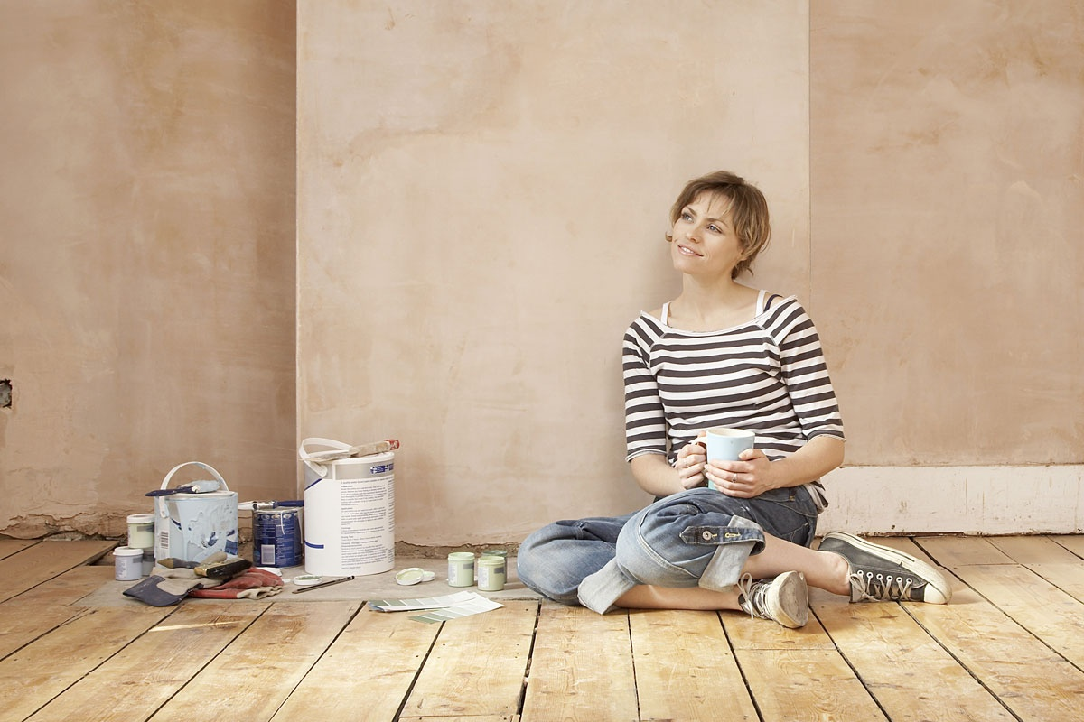 """""""Without a shadow of a doubt, the best value for renovating your house is painting."""" Photo: Supplied."""