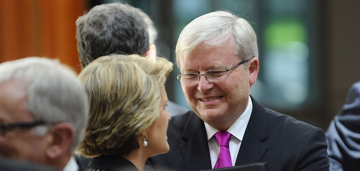 kevin rudd quits