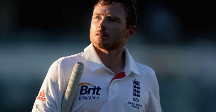 Ian Bell walks off after play in Perth