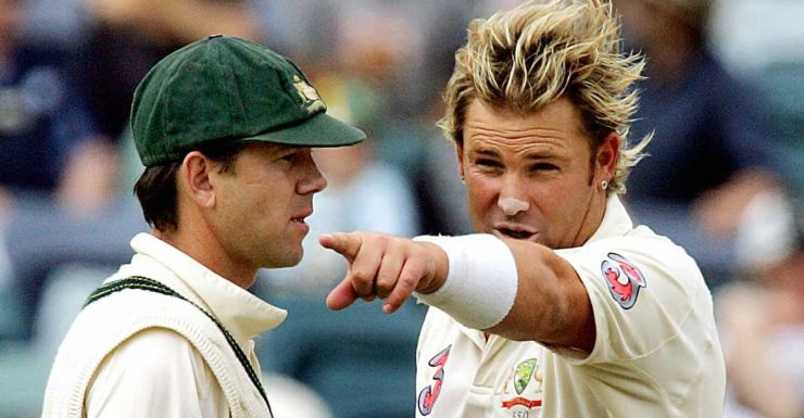 Shane Warne and Ricky Ponting in 2006.