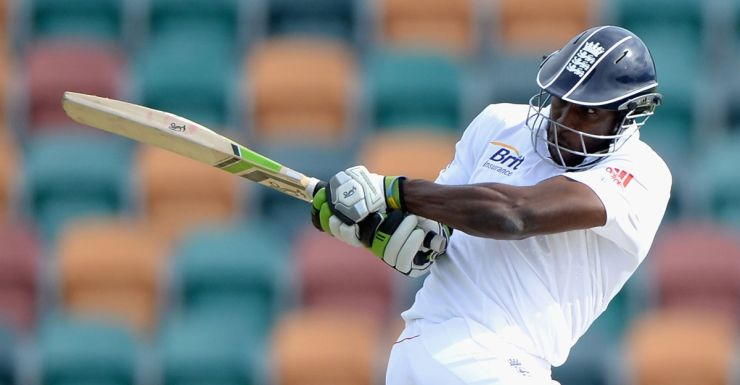 Michael Carberry belts his way into the England team for the first Ashes Test.