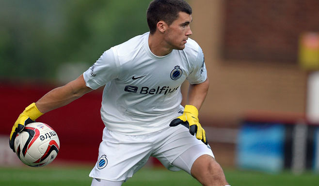 Mat Ryan in action for Club Brugge