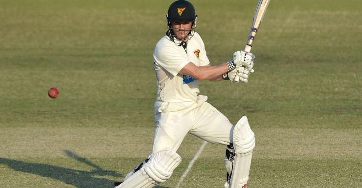 George Bailey in action for Tasmania