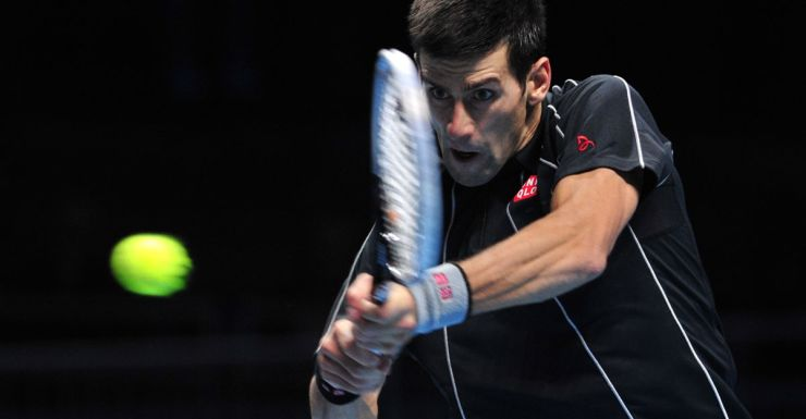 Novak Djokovic powers his way into the ATP world tour final.