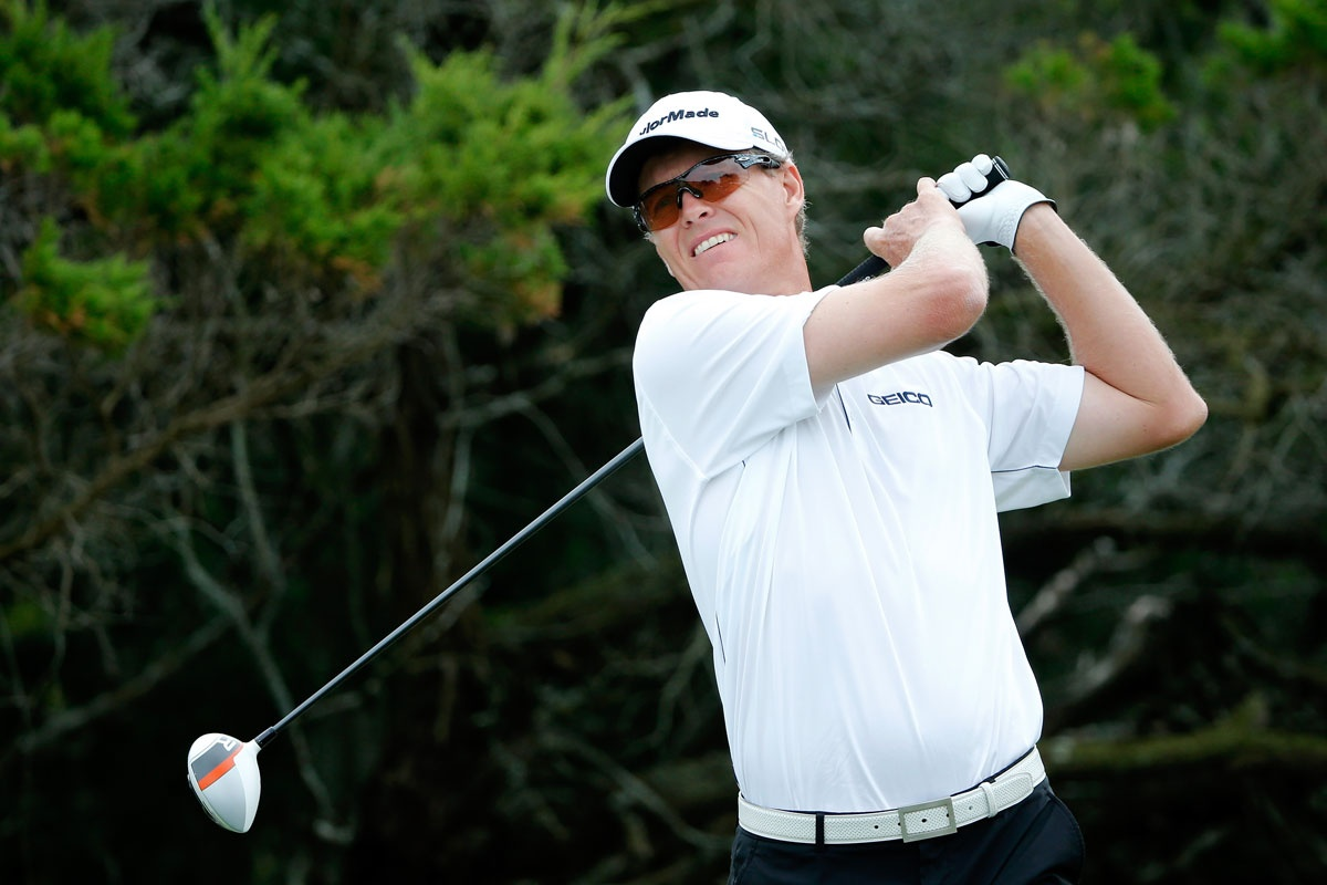 Australia's John Senden during the final round of the McGladrey Classic.