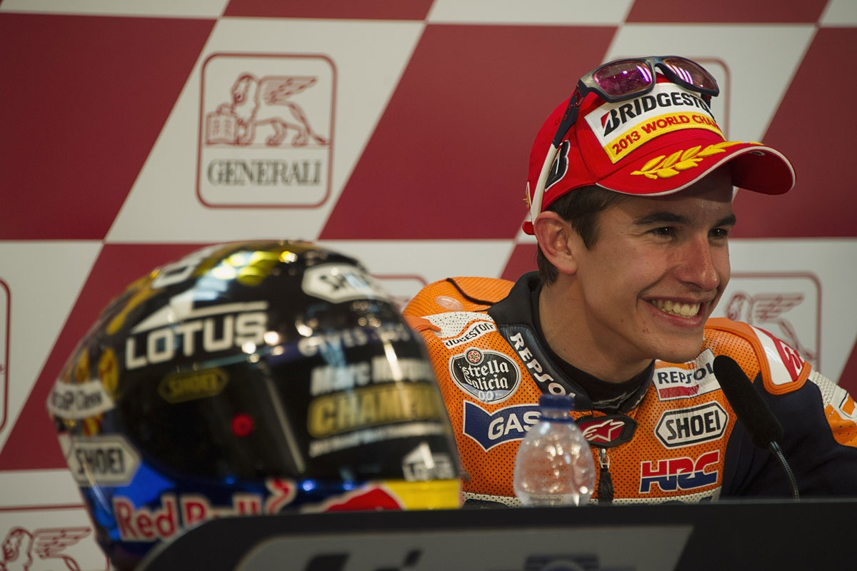 MotoGP world champion Marc Marquez.
