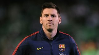 Lionel Messi is out with a hamstring injury