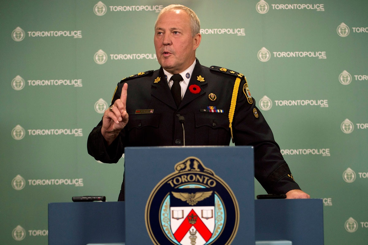 Toronto Police Chief William Blair