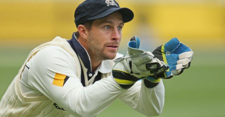 Former Test wicket-keeper Matthew Wade.