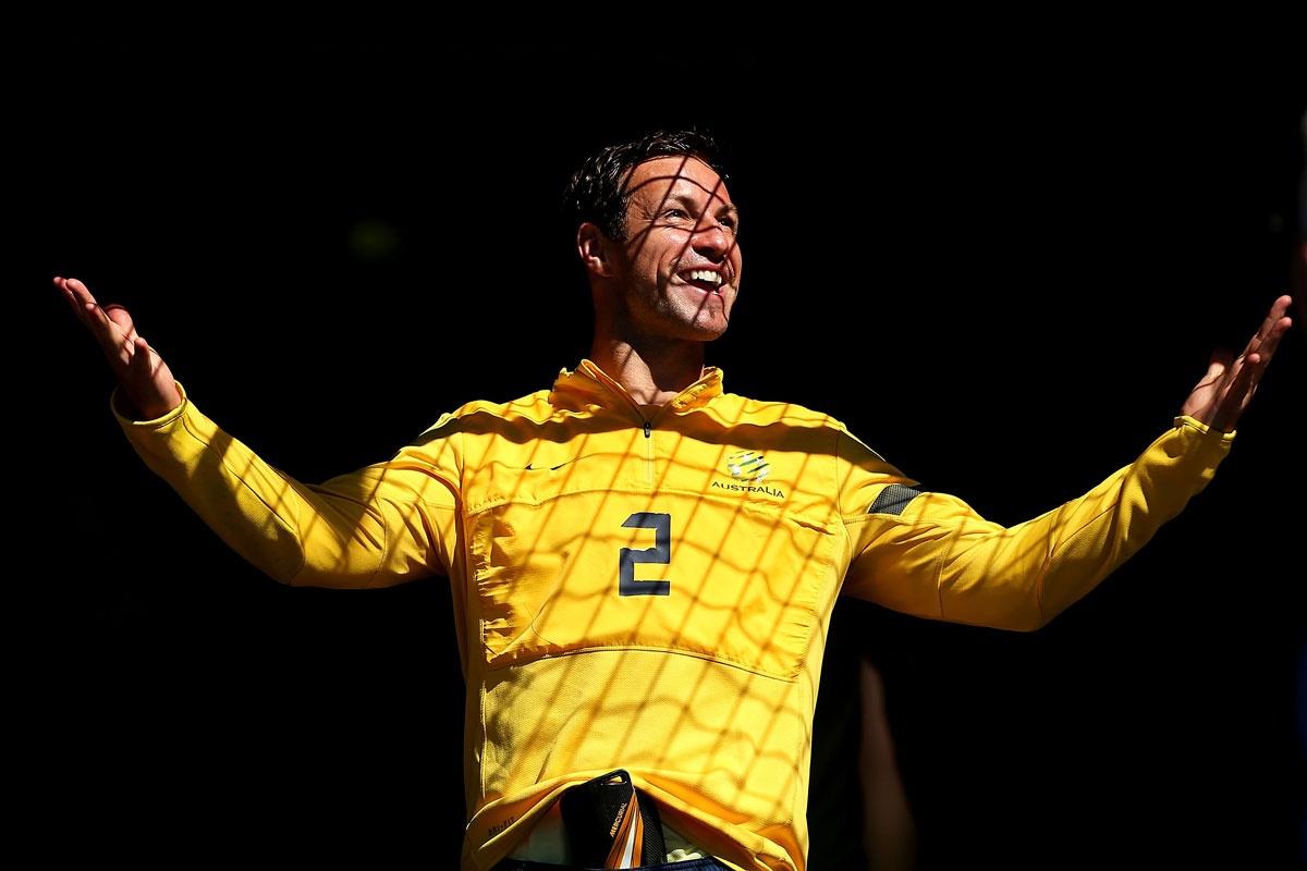 Lucas Neill, Socceroos captain - still.