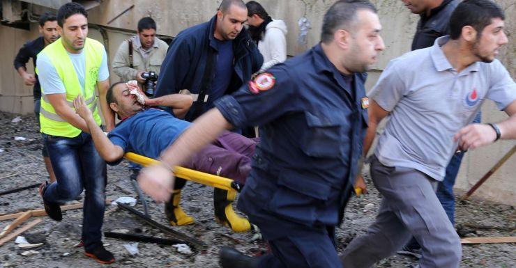 Iranian embassy bombing Beirut
