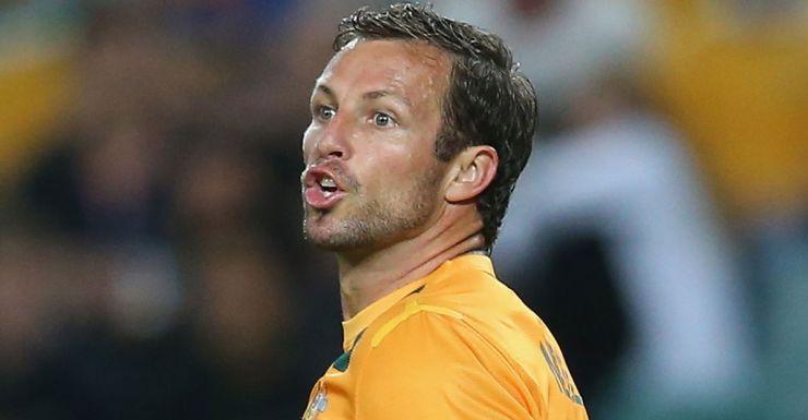 Socceroos captain Lucas Neill