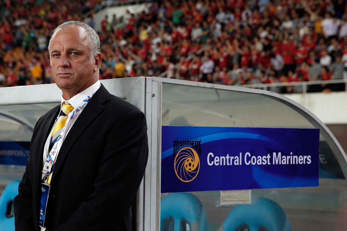 Former Central Coast Mariners coach Graham Arnold.