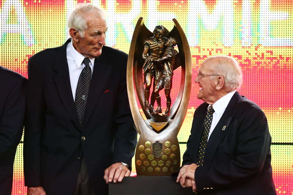 Norm Provan and Arthur Summons in 2013.