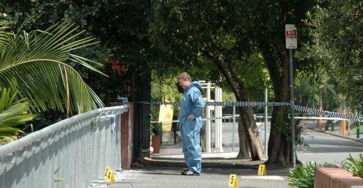 Brisbane park murder