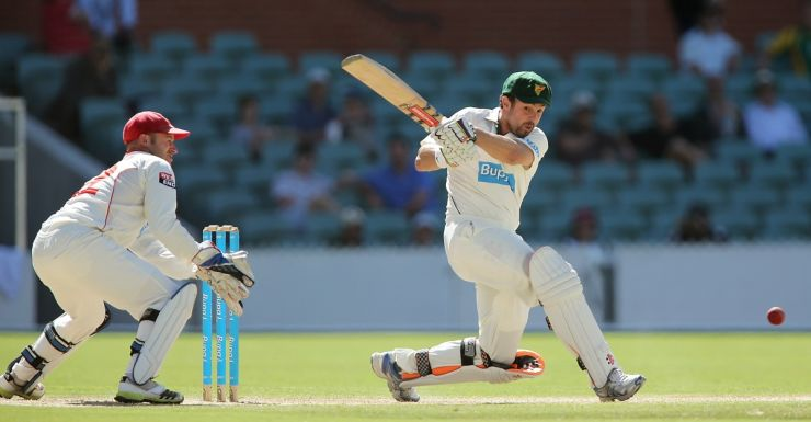 Former Test batsman Ed Cowan hits out at the Adelaide Oval.