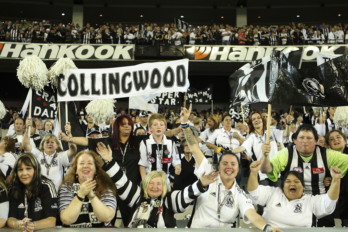 In the money: Collingwood has posted a $5 million profit.