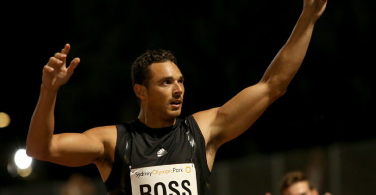 Australian sprinter Josh Ross