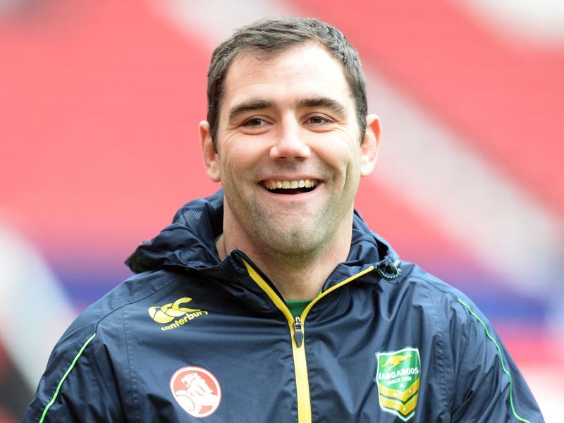 Melbourne Storm captain Cameron Smith