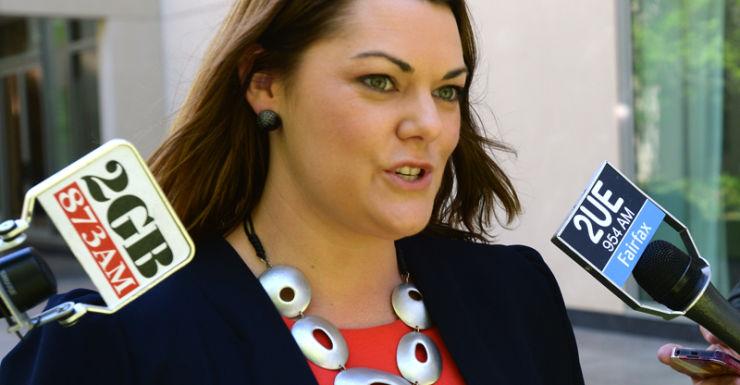 Greens Senator Sarah Hanson-Young